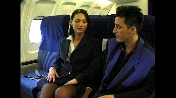 stewardesses having stocking sex in airplanes