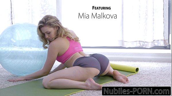mia malkovas hardcore yoga fuck