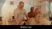 Sexy Young Lolita Taylor Gangbang Fuck In Old A...