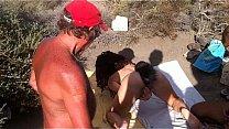 Eva Sumisa. Exhibida Por Mi Amo En La Playa Com...