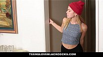 TeensLoveBlackCocks - Tight Blonde Drilled By A...