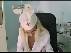 Horny Nurse is very hot and gives the next cust...