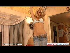 Hot pornstar Monique Alexander fucking