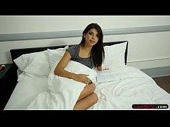 Teen stepsis Gina Valentina pounded by stepbro'...