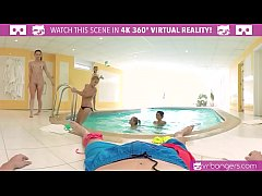 VR PORN-Five Hot Russian Girls Share One Cock
