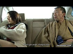 Bratty Asian schoolgirl getting eaten out with ...