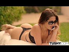 TUSHY Eva Lovia movie part 5 FIRST double penet...
