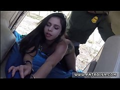 Cop bondage gagged first time Pale Cutie Bangin...