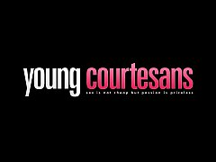 Young Courtesans - Cumsprayed tube8 for xvideos...