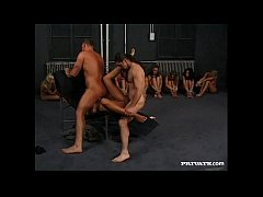 patricia smet uses her ass to make her masters cum