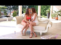 Hot lesbian lovemaking by Sapphic Erotica with ...