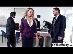 (corinna blake) Big Tits Girl In Office Have A ...