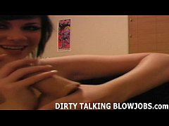 Your dick feels so good in my mouth JOI