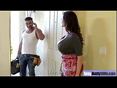 (ariella ferrera) Horny Busty Wife In Hard Styl...