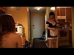 Katrina having her maid for desert 1/2