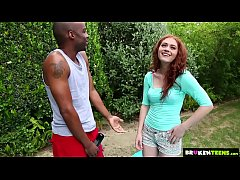 Brokenteens - Redhead cutie gets a big load for...