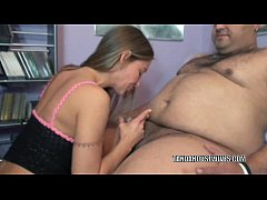 Mature hottie Leeanna Heart is blowing a guy sh...