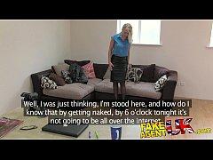 FakeAgentUK Hot British chick doubts agent in hardcore casting