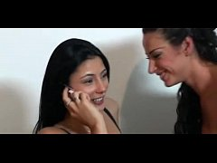 WebcamPornLive.com - Hot Italian Lesbians Squirting Each Other In Webcam