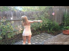 Sexy Sunny Lane is Teasing in Tahoe