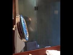Asian Wife Shower Mirror Voyeur