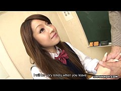 asian schoolgirl has lots of cocks to fuck around with