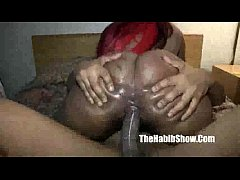 thick mixed hairy rican n black fuckedcked by B...