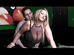 Easy dater with blonde bbw in black stockings