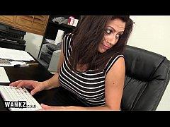 WANKZ - Slutty MILF Boss Fucks Her Employee!