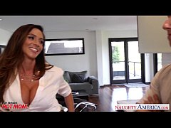 Busty mom Ariella Ferrera gets fucked and facia...