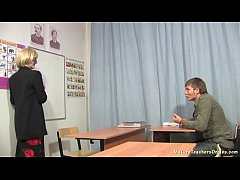 Russian mature teacher 7 - Tamara (english lesson)