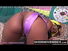 FARTING BIG BOOTY SLUT MSNOVEMBER POOTING EXTRE...