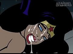 Batman fucks Wonder Woman