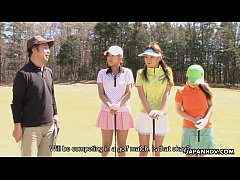 japanhdv Golf Fan Erika Hiramatsu Nao Yuzumiya Nana Kunimi scene3 trailer