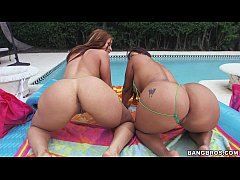 2 Super Thick Asses