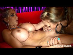 Strip Club Lesbians Puma Swede Nicole Aniston!