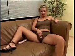 Dirty Geman Blonde Gets Gangbanged