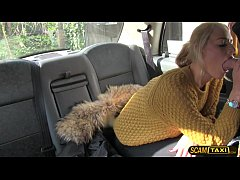 Damn sexy Dutch lady tries anal sex in taxi to ...