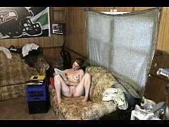 20 Year Old Stepdaughter caught on spycam