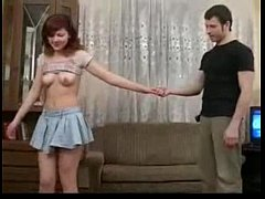 Russian Redhead Teen get pussy fucked, anal and...