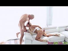 Jmac feeding Kelsi Monroe his big cock sucking ...