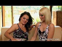 PARADISE FILMS Stunning Lesbian Threesome