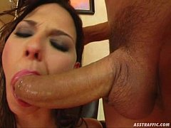 Ass Traffic anal double penetration with facial