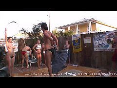 real home backyard wet tshirt contest outrageous
