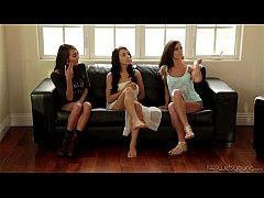 Mia Hurley, Janice Griffith and Whitney Westgat...