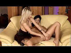 Loveseat Climaxers by Sapphic Erotica - sensual...