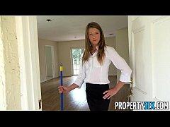 PropertySex - House flipping real estate agent fucks her handyman