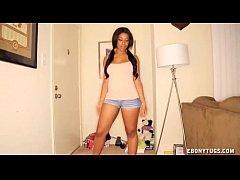 Sexy Ebony Handjob