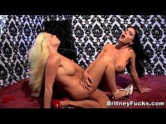 Hot Big Boobed Lesbians