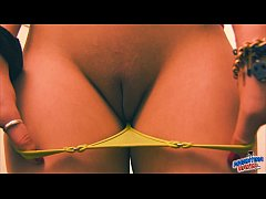 Busty Blonde Teen Has An Epic Cameltoe!. And Ep...